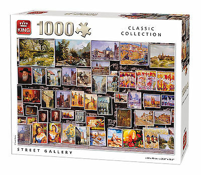 1000 Piece Classic Collection Jigsaw Puzzle - STREET GALLERY PICTURES ART 05121