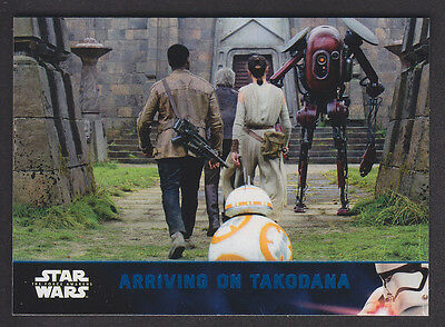 Topps Star Wars - The Force Awakens Series 2 - Blue Parallel Card # 49