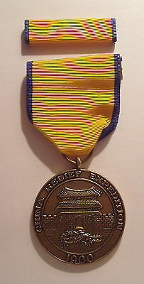 1900 Navy China Relief Expedition Medal with RIBBON