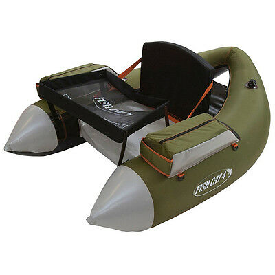 Outcast Fish Cat 4 LCS Belly Boat Angelboot Oliv