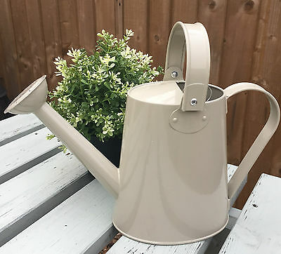 SAGE Pretty Vintage Style Shabby Chic Home or Garden Watering Can LP25511