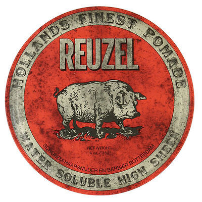 Reuzel Red Water Soluble High Sheen Pomade, 113g