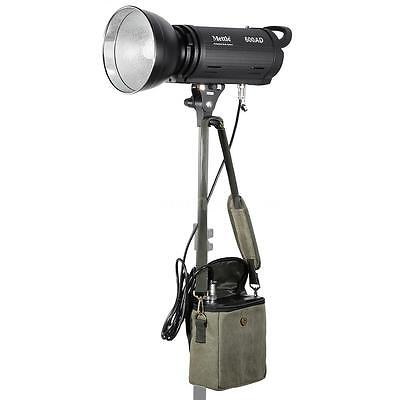 600W GN78 Photography Studio Flash AC/DC+150W Modeling Light+Battery Pack M9F5