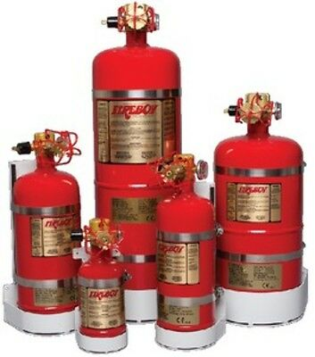 Fireboy Auto & Auto/manual Discharge 50 Cu Ft MA20050227BL Fire Extinguisher LC