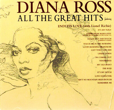 Diana Ross - All The Greatest Hits ( Best Of ) New Sealed Cd Album Tamla Motown
