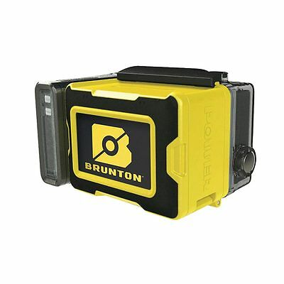 Brunton All Night Lampe und Akku Combo yellow