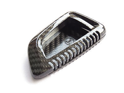Pinalloy Carbon Fiber Remote Key Cover Case Shell for BMW 2014-16 X5 X6 F15 F16