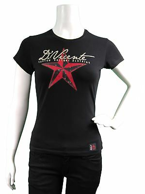 D Vicente Tattoo Fashion: Star Vicente Women's Fitted T-Shirt