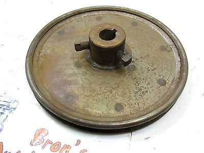 "MTD 21/"" Snow blower thrower Engine PTO drive belt pulley half sheaves 756-0416B"