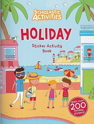 Holiday Sticker Activity Book - over 200 Stickers (Paperback, 2015) New book
