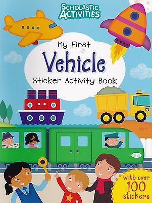 Vehicle Sticker Activity Book over 100 Stickers (Paperback, 2015)