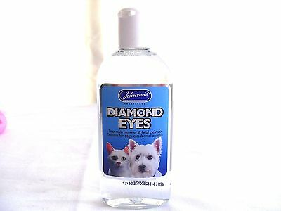 Johnsons Diamond Eyes Tear Stain Remover for Dogs Cats - Dog Tear Stain Remover