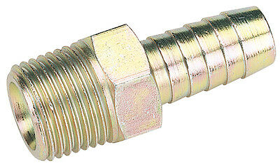 "Draper 1/2"" Taper 1/2"" Bore PCL Male Screw Tailpiece (Sold Loose) - 25822"