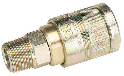 Draper 1/2 BSP Male Thread Air Line Coupling - 25857