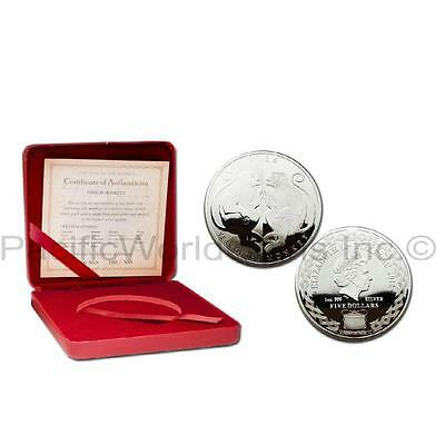 Tokelau 2016 Year of Monkey 1 oz Silver Proof Coin 65mm
