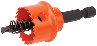 Draper Expert 22mm Bi-Metal Hole Saw with Integrated Arbor - 34984