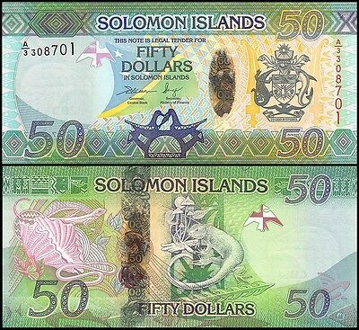 Solomon Islands 50 Dollars, 2013, P-NEW, UNC