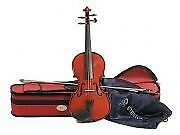 Stentor student II violin 1/2 size outfit, antique chestnut