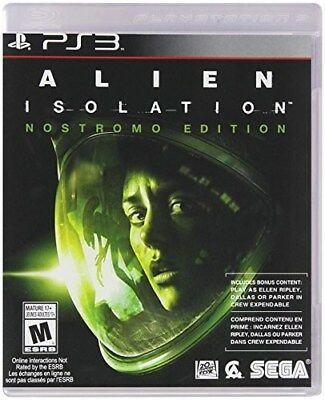 Playstation 3 Ps3 Game Alien Isolation Brand New & Factory Sealed