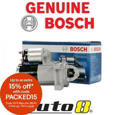 Genuine Bosch Starter Motor fits Holden Commodore VE SS SS-V 6.0L V8 L76 L77 L98