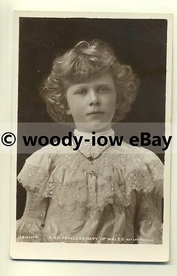 r0090 - Princess Mary daughter of King George V - postcard