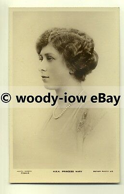 r0097 - Princess Mary , daughter of King George V - postcard