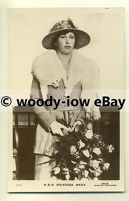 r0106 - Princess Mary , daughter of King George V - postcard