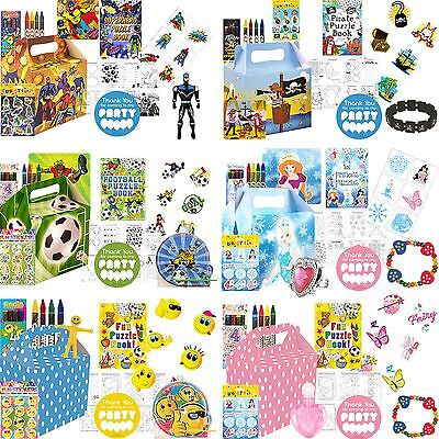 Childrens Pre Filled Party Bags Kids Boys Girls Birthday Bag Unisex Favors Toys