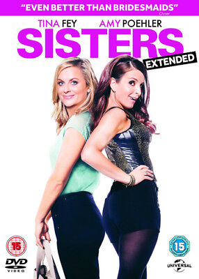 Sisters DVD (2016) Amy Poehler, Moore (DIR) cert 15 ***NEW*** Quality guaranteed