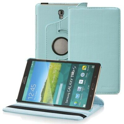 Fosmon Premium Rotating Leather Case Cover Stand for Samsung Galaxy Tab S 8.4