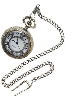 Brand New Steampunk Deluxe Pocket Watch Costume Accessory