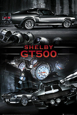 Ford Mustang Poster Shelby GT500 + 1 gratis Ü-Poster