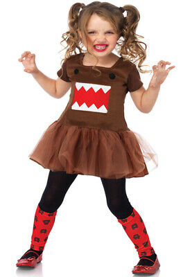 Brand New Official License Japanese Cartoon Character Domo Child Costume