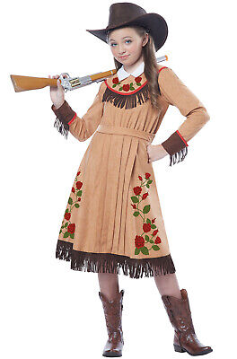 Brand New Western Cowgirl Annie Oakley Child Costume