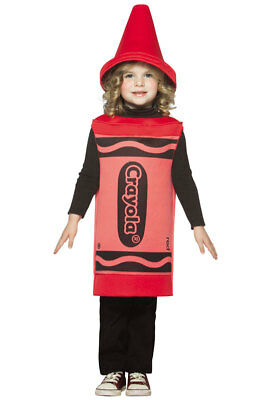 Brand New Crayola Red Toddler Halloween Costume  (3T-4T)
