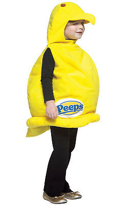Brand New Adorable Easter Treat Peeps Toddler Costume