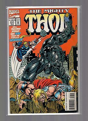Thor #477 NM- Wyman - Destroyer