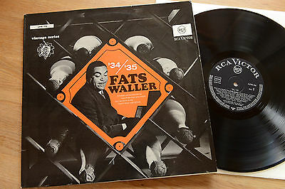 FATS WALLER 34/35 LP RCA vintage series LPM 316
