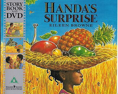 Handa's Surprise - Eileen Browne - New Picture Book And Dvd