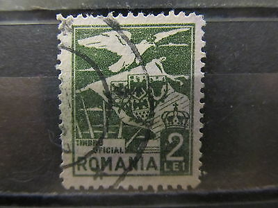 A2P4 ROMANIA OFFICIAL STAMP 1929 2l USED