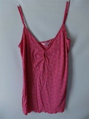 Women's VICTORIA'S SECRET VS PINK NIGHT CAMISOLE SHIRT TOP SIZE M NIGHT GOWM