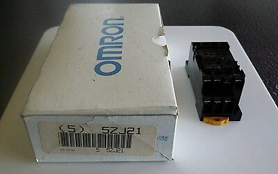 Omron 5ZJ21 Relay NEW 5 PCS