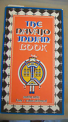 The Navajo Indian Book by Donna Greenlee, softcover 1975