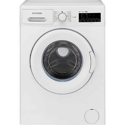 Daewoo DWDFV2421 A+++ 7Kg 1400 Spin Washing Machine White New from AO