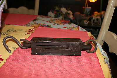 Antique Penn Hanging Scale-200 Pound Test Scale-Philadelphia PA-Country Decor
