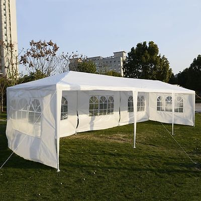 10 X 30 Heavy Duty Outdoor Canopy Event Tent Wedding Party Gazebo Patio Pavilion