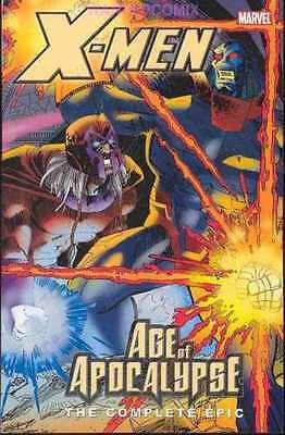 X-Men Age Of Apocalypse Complete Epic Vol 4 Tpb Omega Prime Free Shipping New 1