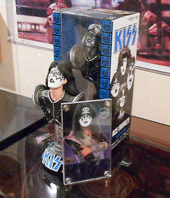 KISS -  McFarlane Collectible Statuettes ** ACE FREHLEY ** Lot + BONUS CARD