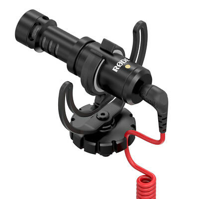 RODE VideoMicro Compact On Camera Microphone for DSLR Cameras
