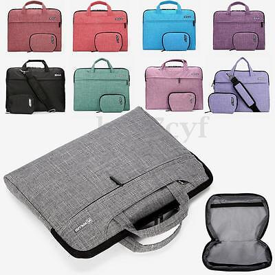 13-15'' Laptop Notebook Soft Sleeve Shoulder Carry Bag Case For Macbook HP Dell